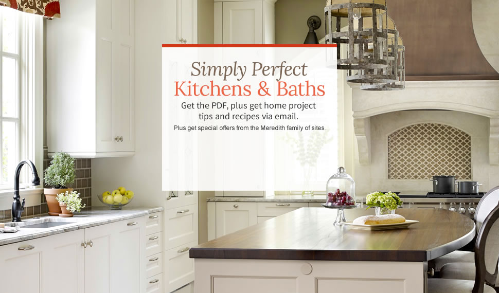 simply perfect kitchens and baths traditional home