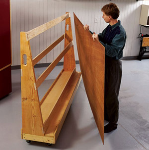 Plywood Storage Rack Plans