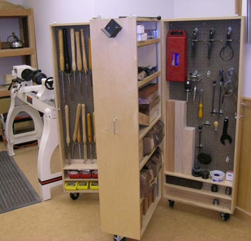 Workshop tool cabinets