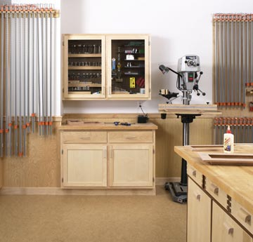 Woodshop Wall Cabinets