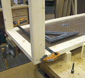 Look Bench Tool System Woodworking Plan Free Desk Project