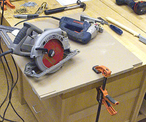 Wood Project Ideas Bench Tool System Woodworking Plan Free