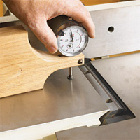 Jointer Knife Adjustment Jig