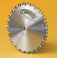 Finger joint saw blade