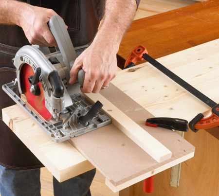 Half-lap joint jig: Put the jig to work