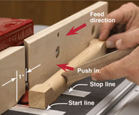 Make your own dowels on a router table