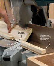 crown moulding miters