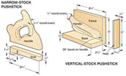 graphic about Table Saw Push Stick Printable Template identified as The Device Crib 14 Force Block Options + 11 Thrust Adhere Strategies
