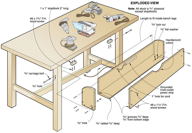 free downloadable woodworking bench plans | Quick Woodworking Projects
