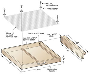 Self-Contained Spray Adhesive Drawer
