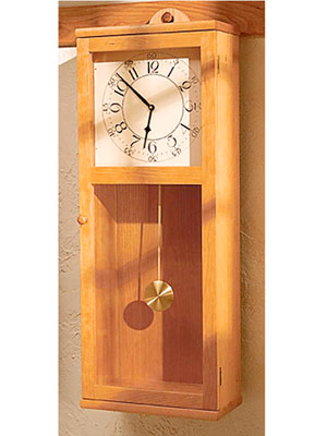 Simply Stated Shaker Clock