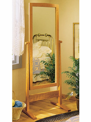 Cheval Shaker Mirror