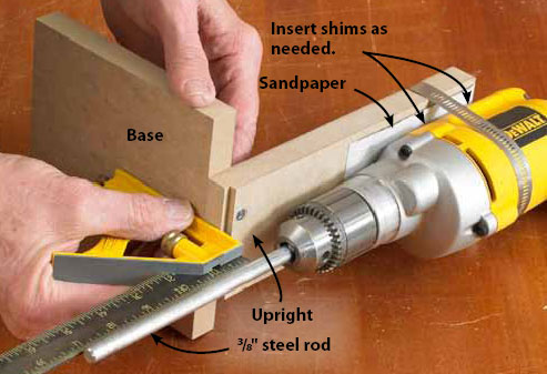 woodworking drum sander