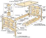 bed construction plans