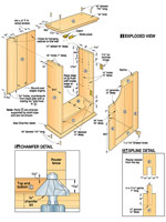 Shaker Cabinet Woodworking Plan