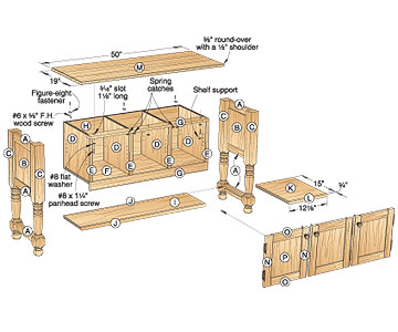 Download hutch woodworking plans plans free for Wood hutch plans