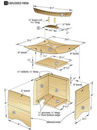 Pagoda Box Woodworking Plan