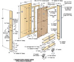 Mobile Tool Cabinet Downloadable Plan