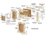 Get-It-All Together Sandpaper Cabinet Woodworking Plan