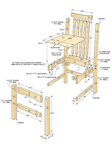 Free Chair Woodworking PlansWoodworker Plans | Woodworker Plans