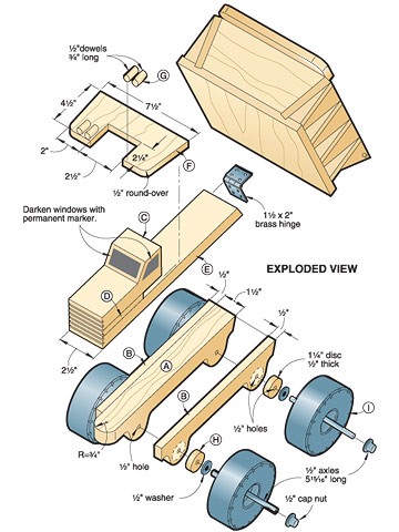 One Huge Hauler Woodworking Plan