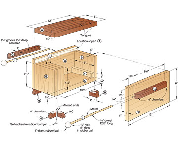 Free Tongue Drum Plans http://www.woodmagazine.com/woodworking-plans/tone-of-fun-tongue-drum/