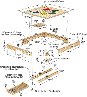 wood game plans
