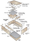 Beveled Beauty Jewelry Box Woodworking Plan