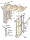 Garden Arbor Getaway Woodworking Plan