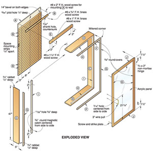 Universal Wall Cabinet Woodworking Plan