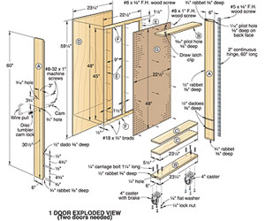 plan for tool cabinet