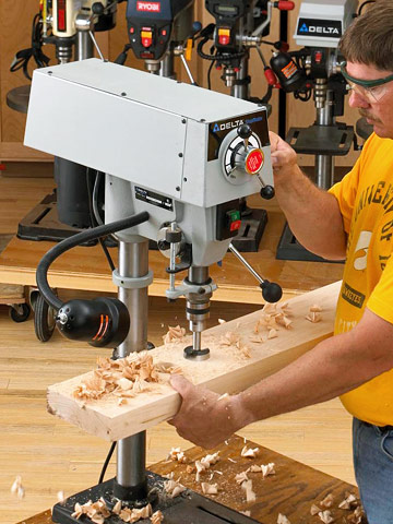 Woodworking Tool Review: Benchtop Drill Presses