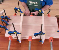 Free Video - Clamp and Sand Panels Flat