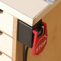 Rockler Safety Power Tool Switch, #20915
