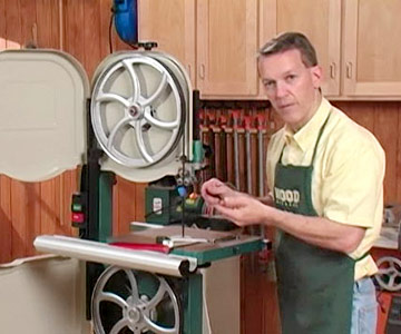 Bandsaw tune up