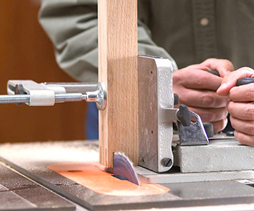 Simple Tenon Jig Table Saw