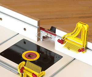 Wise Buys: Rev Up Your Woodworking Router Table with Accessories: Rockler Safety Power Tool ...