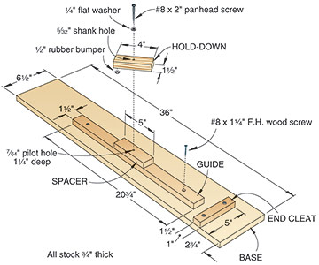 Adjustable Taper Jig Plans