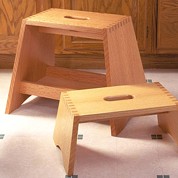 Box Step Stool Plans