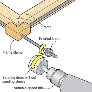 Put some zip in your clamping with a drum sander