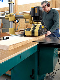 Tablesaw power test