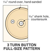 Pattern of hole