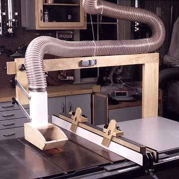 Tablesaw Dust Collector With Bonus Hold Downs