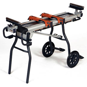 Wise Buys: Portable Mitersaw Stands: Ridgid AC9944