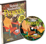 weekend woodworking projects DVD