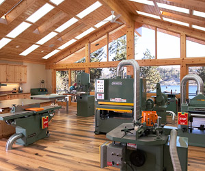 creative Eye Candy 10 Droolworthy Home Woodworking Shops  Curbly