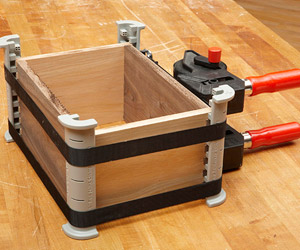 Glue up perfect box joints with these handy cauls