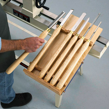 Wood Lathe Tool Holder