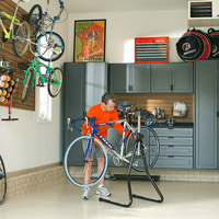 Garage with Bicycle