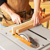 Jig on tablesaw